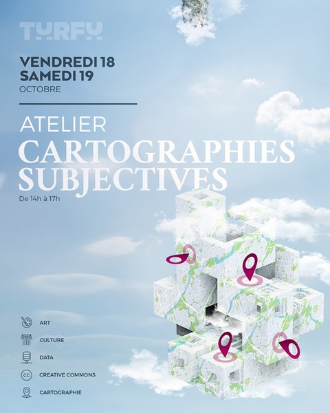 affiche atelier Cartographies subjectives